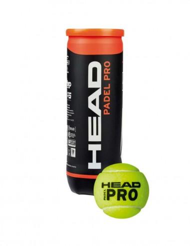 HEAD PADEL PRO – 3 PELOTAS